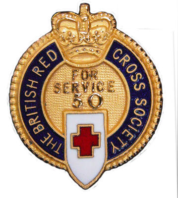 50 Year Service badge