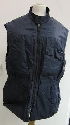 navy body warmer
