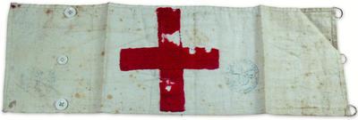 Brassard, worn during the Franco-Prussian War, 1870-71