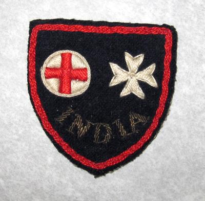 cloth badge: India