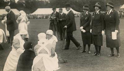 Photograph of an Inspection by Mary, Princess Royal; RCB/2/12/5/13