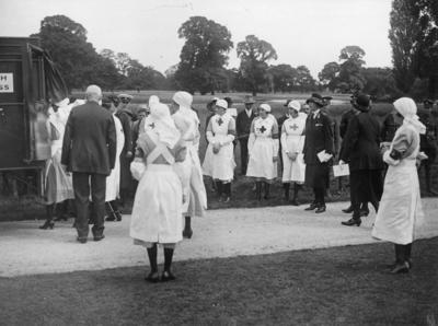 Photograph of an Inspection by Mary, Princess Royal; RCB/2/12/5/10