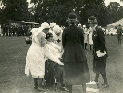 Photograph of an Inspection by Mary, Princess Royal; RCB/2/12/5/11