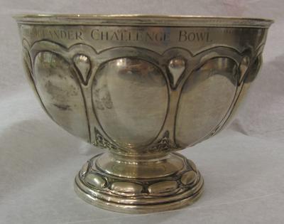 silver bowl: The Oglander Challenge Bowl