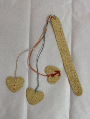 String bookmark made in Liebenau