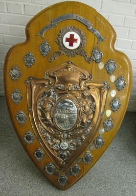 Large competition shield for men's detachments in Surrey, 1913: Surrey Challenge Trophy