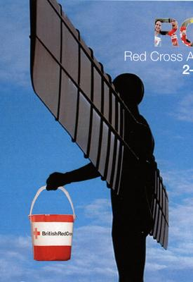 Red Cross Appeal Week fundraising keyring