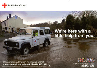 Red Cross Appeal Week fundraising poster