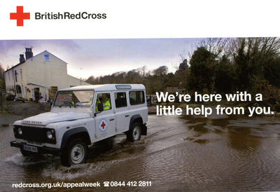 Red Cross Appeal Week postcard
