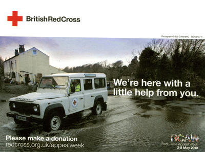 Red Cross Appeal Week donation envelope
