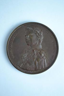 British Red Cross commemorative medallion, Golden Jubilee of Queen Elizabeth II