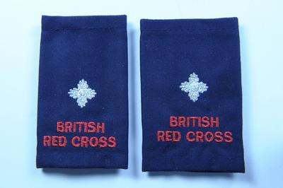 British Red Cross uniform epaulette