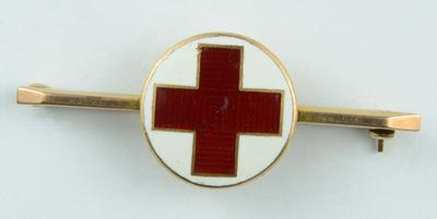 Red Cross tie pin