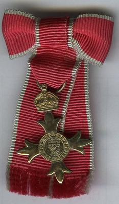 MBE medal; Spink & Son Ltd; Medals and Badges/medal; 2987/2