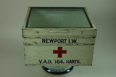 Storage box for Newport Isle of Wight VAD 164