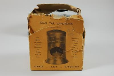 Wright's coal tar vaporizer