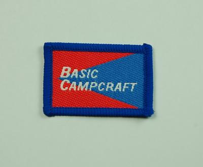 Junior Red Cross Proficiency Badge Basic Campcraft