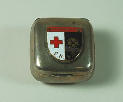 Red Cross and St John Central Hospital Supply Service box