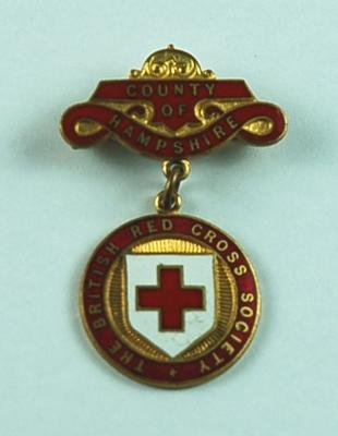 British Red Cross County Badges County of Hampshire