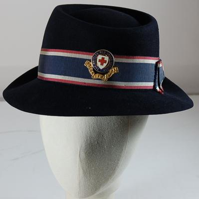 "Ladies ""Porkpie"" hat."