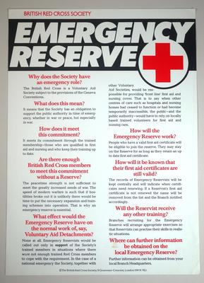 """Emergency Reserve"""