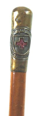 British Red Cross Society baton