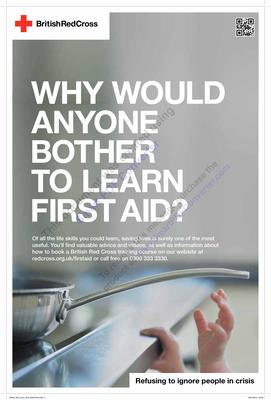 'Why would anyone bother to learn first aid?'
