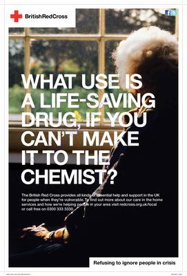 'What's the use of a life saving drug, if you can't make it to the chemist?'