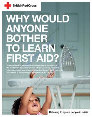 'Why would you bother to learn first aid?'