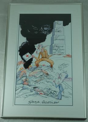 Special Relationship; Gerald Scarfe (b.1936); Art/drawing; 3127/4