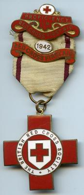 British Red Cross Proficiency badge in Red Cross First Aid