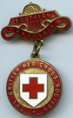 British Red Cross county badge