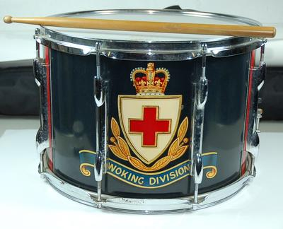 snare drum and drum stick