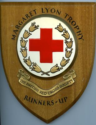 Margaret Lyon Jubilee Runners-Up Trophy for Community Service