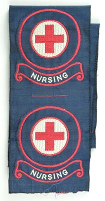 Indoor uniform badges: First Aid/Nursing x8, First Aid x8, Nursing x10