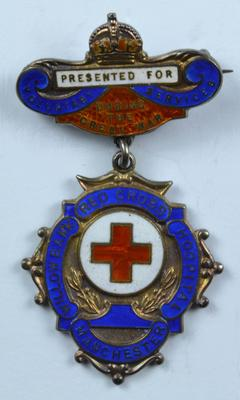 Willowbank Red Cross Hospital badge; Medals and Badges/badge; 410/3