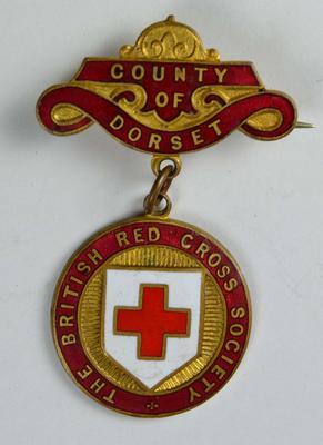 British Red Cross County badge: Dorset