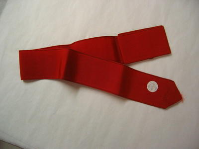 Red Petersham Commandants belt