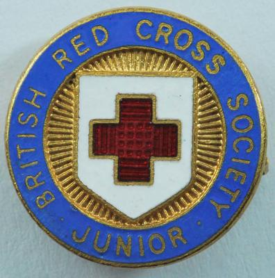 British Red Cross Society Junior membership badge