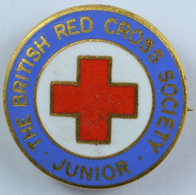 British Red Cross Society Junior beret badge