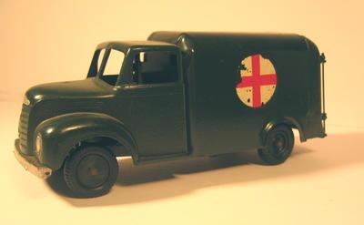 model of a motor ambulance