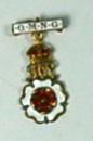 Queen Mary's Needlework Guild badge; Medals and Badges/badge; 463/1