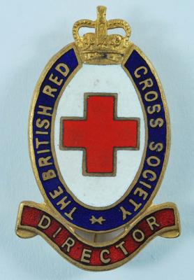 The British Red Cross Society Director badge