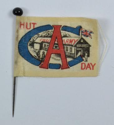 flag: Church Army Hut Day