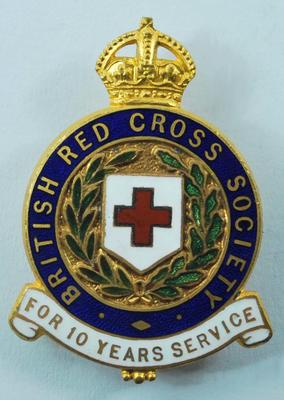 10 Year Service badge