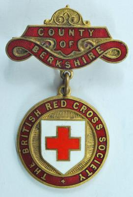 County of Berkshire badge