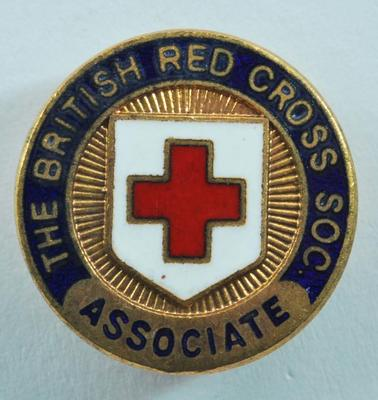 British Red Cross Associates badge