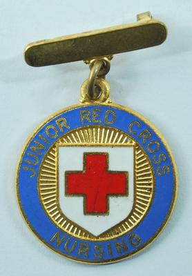 Junior Red Cross badge for Nursing