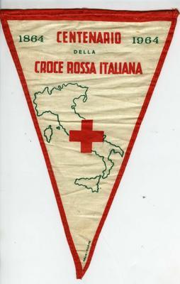 Pennant: Centenary of the Italian Red Cross