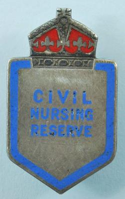 Civil Nursing Reserve badge